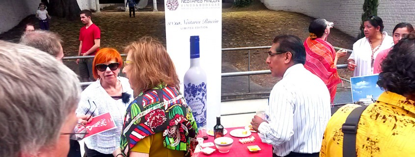Presentation of our wines in Brussels, Cervantes Institute, E Day :: © Bodegas Nestares Rincon