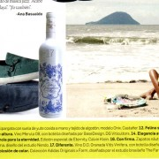 Una de las botellas de Vitis vinifera recomendada en la prestigiosa revista Arquitectura y Diseño :: Bodegas Nestares Rincón Alpujárride