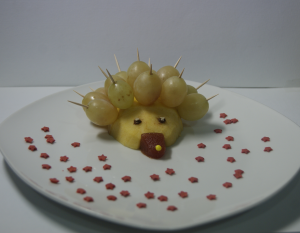 Erizo de frutas