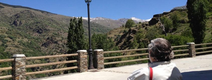 Views of Sierra Nevada from Capileira, La Alpujarra :: Bodegas Nestares Rincon, Alpujarride
