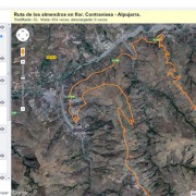 Ruta de los Almendros en Flor. Wikiloc Alpujáride :: © Bodegas Nestares Rincón
