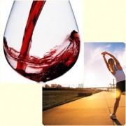 vino y ejercicio